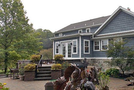 External improvements - siding, roofing, doors, patio